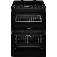 AEG CIB6740ACB 60cm Electric Cooker with Induction Hob - Black
