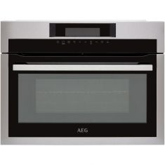 AEG Mastery KME721000M Built In Microwave With Grill - Stainless Steel