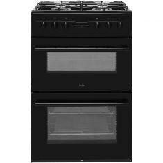 Amica AFD6450BL 60cm Dual Fuel Cooker - Black