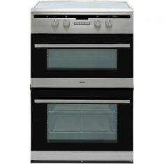 Amica AFN6550SS Electric Cooker with Double Oven