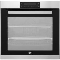 Beko BIM32400XP Built In Electric Single Oven - Stainless Steel