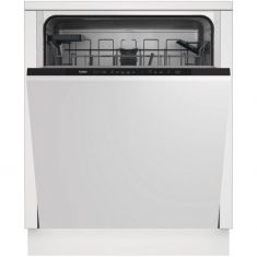 Beko DIN15C20 Built In Fully Integrated Dishwasher