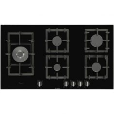 Bosch Serie 6 PPS9A6B90 92cm Gas Hob - Black