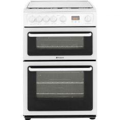 Hotpoint HAGL60P 60cm Gas Cooker - White