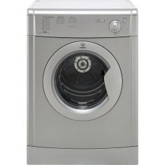 Indesit Eco Time IDV75S 7Kg Vented Tumble Dryer - Silver