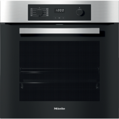 Miele H2267-1BP Built In Electric Single Oven - Clean Steel