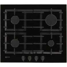 NEFF N70 T26CS49S0 59cm Gas Hob - Black