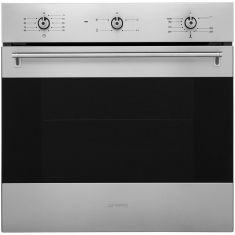 Smeg Classic SF6341GVX Built In Gas Single Oven - Stainless Steel