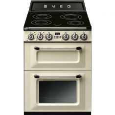 Smeg Victoria TR62IP Induction Electric Cooker with Double Oven