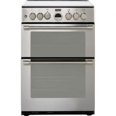 Stoves Sterling STERLING600DF 60cm Dual Fuel Cooker - Stainless Steel