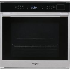 Whirlpool W Collection W7OS44S1P Built In Electric Single Oven with Steam Function - Stainless Steel