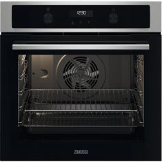 Zanussi ZOCND7X1 Built In Electric Single Oven - Stainless Steel