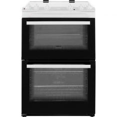 Zanussi ZCV66050WA 60cm Electric Cooker with Ceramic Hob - White